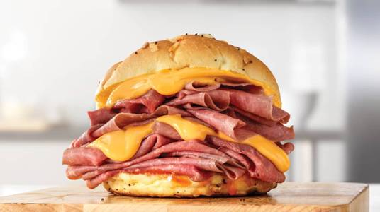Double Beef 'n Cheddar from Arby's - Eau Claire Hendrickson Dr (1958) in Eau Claire, WI