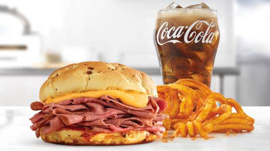 Classic Beef 'n Cheddar Meal from Arby's - Eau Claire N Clairmont Ave (8750) in Eau Claire, WI