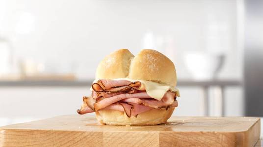 Ham Slider from Arby's - Madison Collins Ct (6738) in Madison, WI