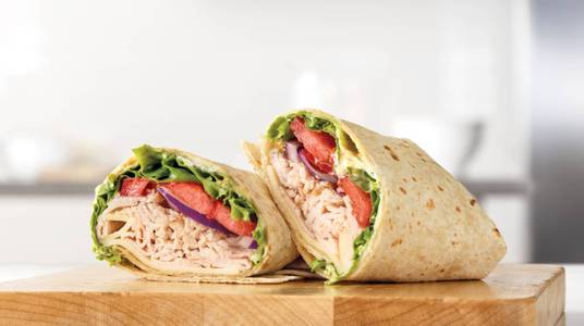 Roast Turkey & Swiss Wrap from Arby's - Kaukauna Delanglade St (7153) in Kaukauna, WI