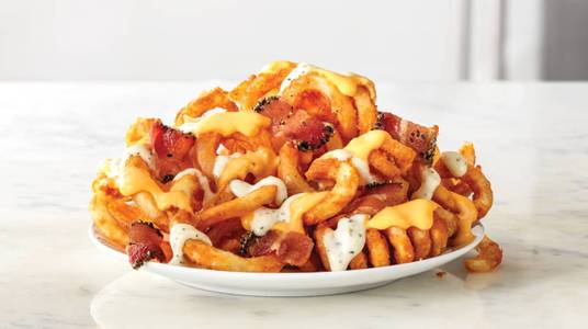 Loaded Curly Fries from Arby's - Madison Collins Ct (6738) in Madison, WI