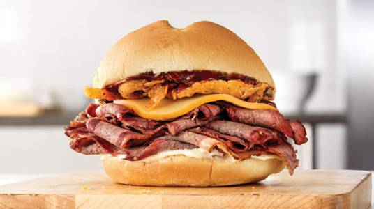 Smokehouse Brisket from Arby's - Madison Collins Ct (6738) in Madison, WI
