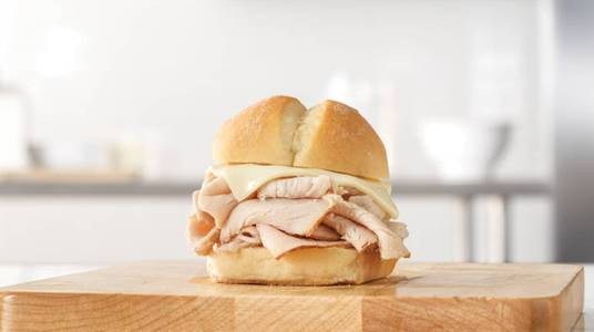 Turkey Slider from Arby's - Madison Collins Ct (6738) in Madison, WI