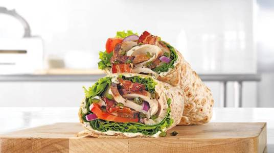 Market Fresh Jalapeno Bacon Ranch Wrap from Arby's - Neenah Westowne Dr (7638) in Neenah, WI