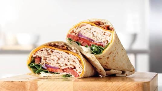 Roast Turkey Ranch & Bacon Wrap from Arby's - Neenah Westowne Dr (7638) in Neenah, WI