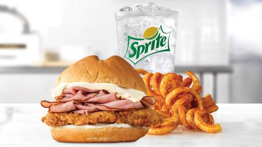 Chicken Cordon Bleu Meal from Arby's - 6627 in New Franken, WI