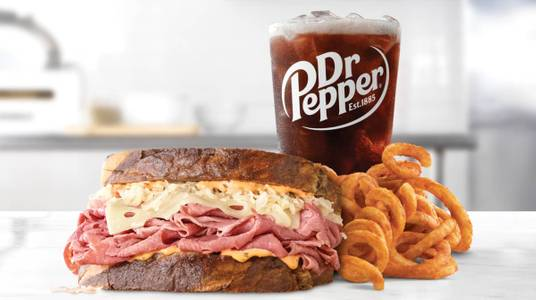 Reuben Meal from Arby's - 6627 in New Franken, WI