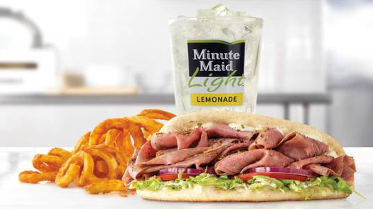 Roast Beef Gyro Meal from Arby's - 6627 in New Franken, WI