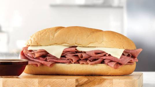 Classic French Dip & Swiss from Arby's - Onalaska N Kinney Coulee Rd (8509) in Onalaska, WI