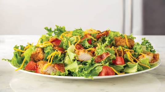 Crispy Chicken Farmhouse Salad from Arby's - Onalaska N Kinney Coulee Rd (8509) in Onalaska, WI