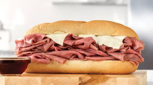 Half Pound French Dip & Swiss from Arby's - Onalaska N Kinney Coulee Rd (8509) in Onalaska, WI