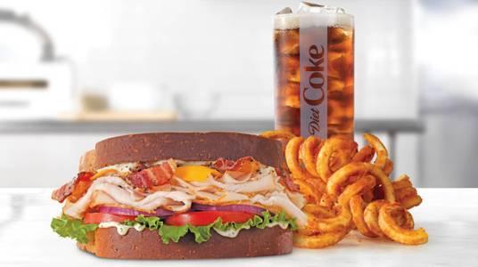Roast Turkey Ranch & Bacon Sandwich Meal from Arby's - Onalaska N Kinney Coulee Rd (8509) in Onalaska, WI