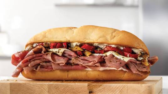 Fire-Roasted Philly Roast Beef from Arby's - Sun Prairie Bunny Trail (8487) in Sun Prairie, WI