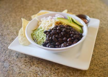 Vegan Loaded Rice Bowl from Archibowls in Lawrence, KS