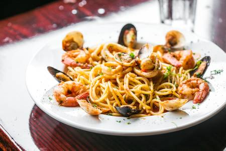 Linguine Pescatore from Arianna's Grill - N. Sheppard St. in Richmond, VA