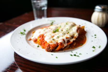 Meat Lasagna from Arianna's Grill - N. Sheppard St. in Richmond, VA