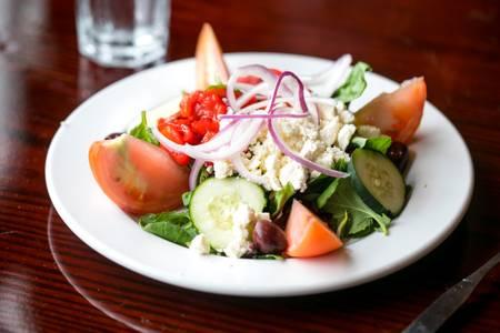 Mediterranean Salad from Arianna's Grill - N. Sheppard St. in Richmond, VA