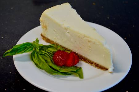 Cheesecake from Aroma Pizza & Pasta in Lake Forest, CA