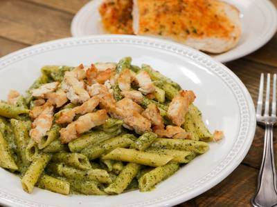 Pesto Chicken Pasta from Aroma Pizza & Pasta in Lake Forest, CA