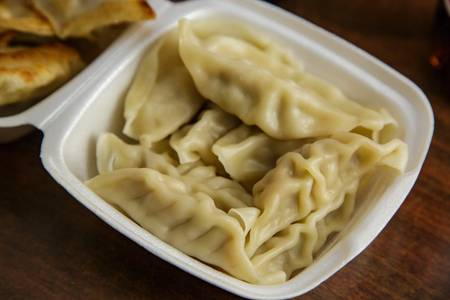 12. Steamed Dumpling (8) from Asian Kitchen in Madison, WI