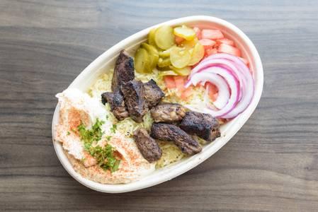 Beef Kabob Bowl from Baba Dari Ann Arbor in Ann Arbor, MI