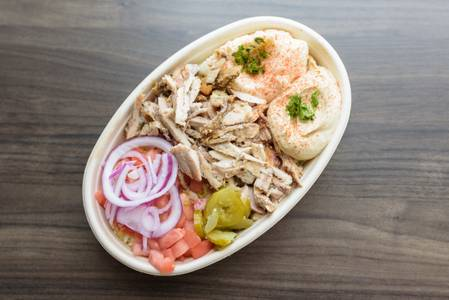 Chicken Shawarma Bowl from Baba Dari Ann Arbor in Ann Arbor, MI