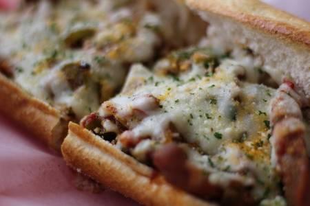 Chicken Parmigiana Sub from Bacci's Pizza & Pasta - Carrollton in Carrollton, TX