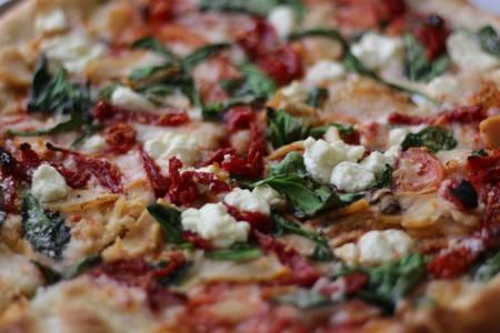 Goat Cheese Gourmet Pizza from Bacci's Pizza & Pasta - Carrollton in Carrollton, TX