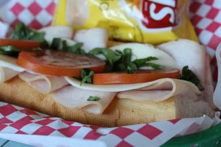 Turkey and Provolone Sub from Bacci's Pizza & Pasta - Carrollton in Carrollton, TX