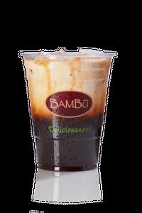 Iced Thai Milk Tea from Bambu in Madison, WI