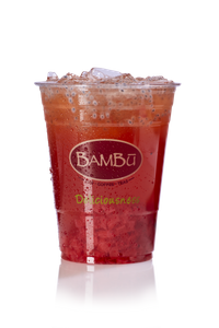 Real Fruit Strawberry Tea from Bambu in Madison, WI