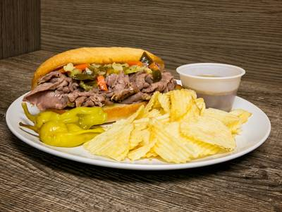 Italian Beef from Bari Pizzeria in West Allis, WI