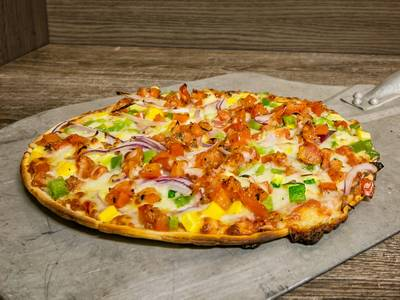 Ratatouille Pizza from Bari Pizzeria in West Allis, WI