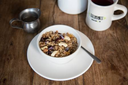Granola & Milk (VG, GF) from Barriques - Downtown in Madison, WI