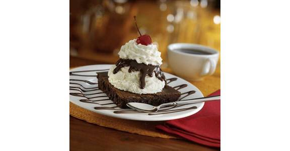 Brownie Bottom Pie from Bennigan's on the Fly in Dubuque, IA