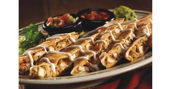 Dubliner Quesadillas from Bennigan's on the Fly in Dubuque, IA
