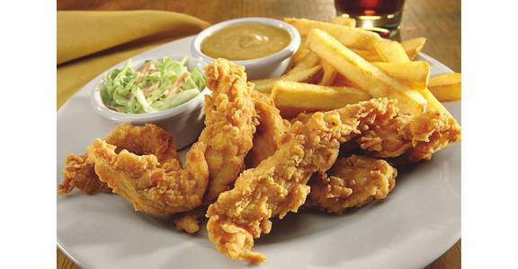 Our Signature Chicken Tenders from Bennigan's on the Fly in Dubuque, IA