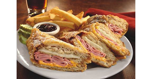 World Famous Monte Cristo from Bennigan's on the Fly in Dubuque, IA