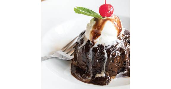 Molten Lava Cake from Bites Restaurant in Forest Grove, OR
