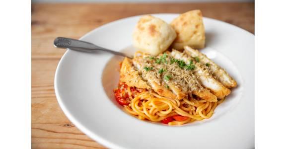 Parmesan Chicken Marinara from Bites Restaurant in Forest Grove, OR