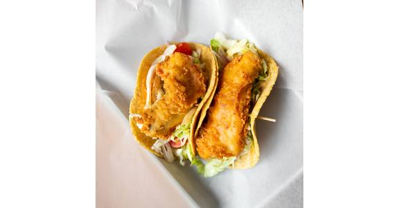 Salmon Fish Tacos from Bites Restaurant in Forest Grove, OR