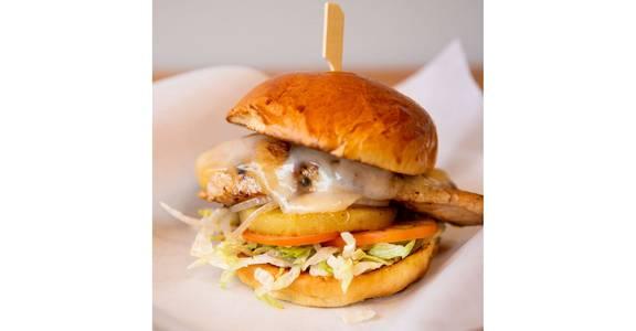 Teriyaki Chicken Burger from Bites Restaurant in Forest Grove, OR