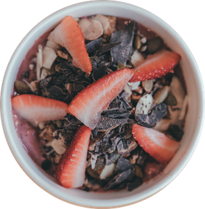 Almond Butter Acai Bowl from Blended (formerly known as Bowl of Heaven) in Madison, WI