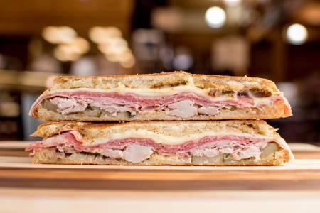 Cuban Sandwich from Brennans Market in Madison, WI