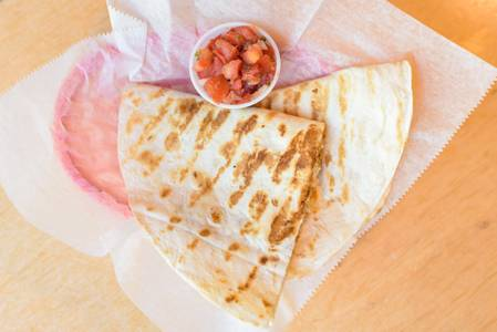 Cheese Quesadilla from BTB Burrito/ Good Time Charley's in Ann Arbor, MI