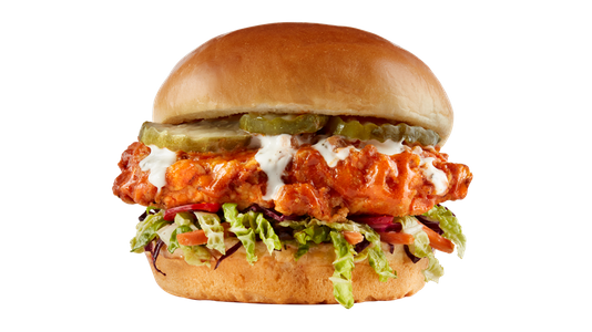 Nashville Hot Chicken Sandwich from Buffalo Wild Wings - Wausau in Wausau, WI
