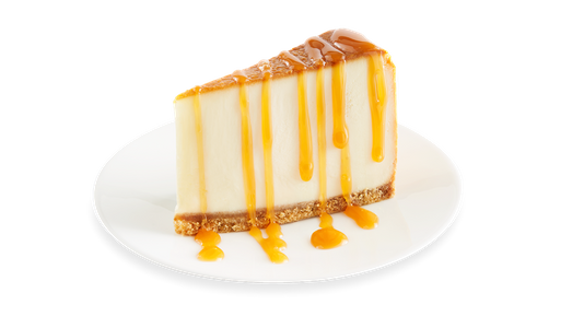 New York-Style Cheesecake with Caramel Sauce from Buffalo Wild Wings - Wausau in Wausau, WI