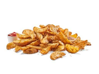 Large Potato Wedges from Buffalo Wild Wings (110) - Dekalb in Dekalb, IL
