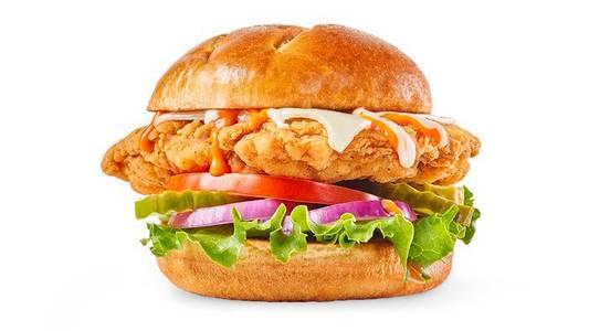 Buffalo Ranch Chicken Sandwich from Buffalo Wild Wings - Dubuque in Dubuque, IA