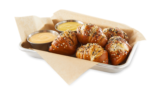 Everything Pretzel Knots from Buffalo Wild Wings - Dubuque in Dubuque, IA